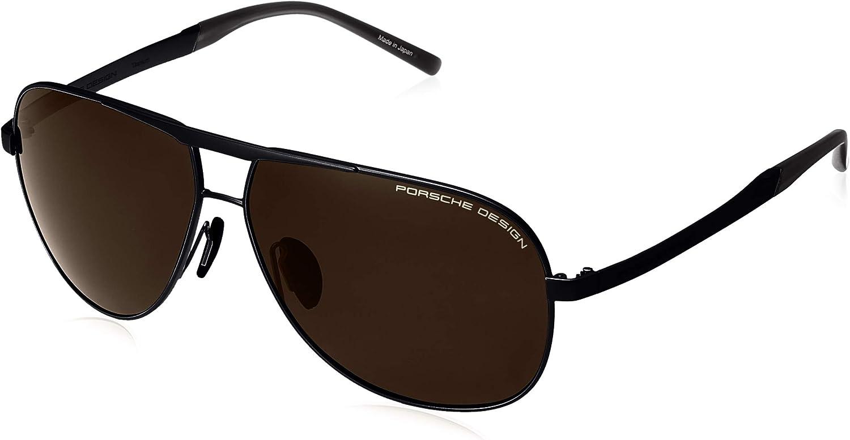 Authentic Porsche Design P 8657 A Black Sunglasses