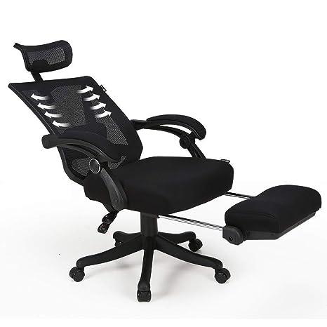 Amazon.com: Hbada - Silla reclinable de escritorio para ...