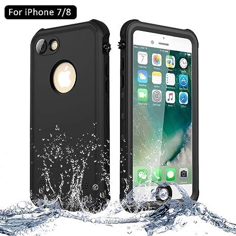 a3beceb3182 NewTsie Funda iPhone 7, Funda iPhone 8, Anti-rasguños Impermeable Carcasa  Funda Case