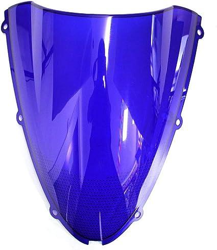 Motorcycle Windshield For Kawasaki Ninja ZX6R 2005-2008 ZX10R 2006-2007 Clear