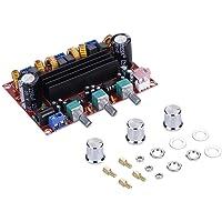 Meterk Bluetooth 5.0 Stereo Digital Power Amplifier Board TPA3116D2 50Wx2+100W 2.1 Channel Audio Bass Subwoofer AUX AMP…