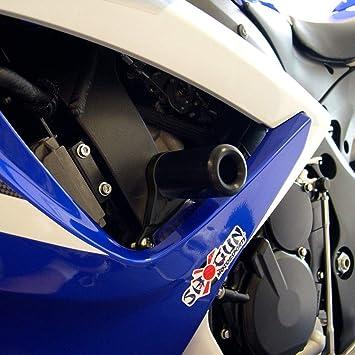 Suzuki 2006-2007 GSXR600 GSXR-600 Shogun Frame Sliders No Cut Version Black