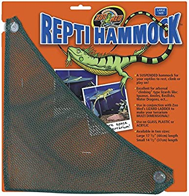 Zoo Med Mesh Reptile Hammock, 17.5-Inch by Zoo Med Laboratories