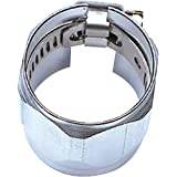 Russell 622260 Chrome -6AN Tube Seal Fuel Hose End