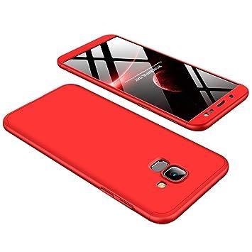 coque rouge telephlne samsung j6