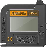 KKmoon Testador de bateria 168MAX Testador de display digital Verificador de tensão da bateria Ferramenta de teste de…