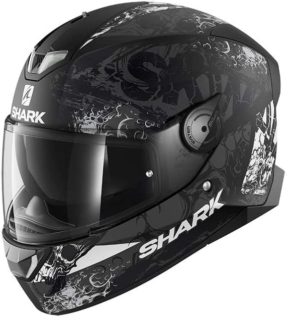 Shark Skwal 2.2 Nukhem KAW Full Face Helmet M Black//Charcoal//White