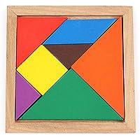 kaimus Juguetes de Madera de la educación temprana de Tangram niños Puzzles de Madera