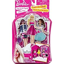 Barbie Dress Up Closet Magnetic Paper Doll Activity by Mattel