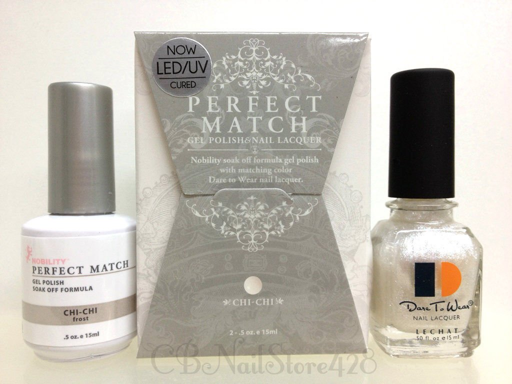 Amazon.com: LECHAT Perfect Match Gel Polish & Nail Lacquer DUO PMS18 ...