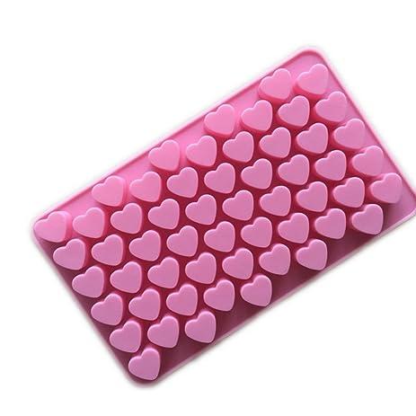 Amazon.com: Heart-shape Silicone Ice Chocolate Cake Jelly Candy ...
