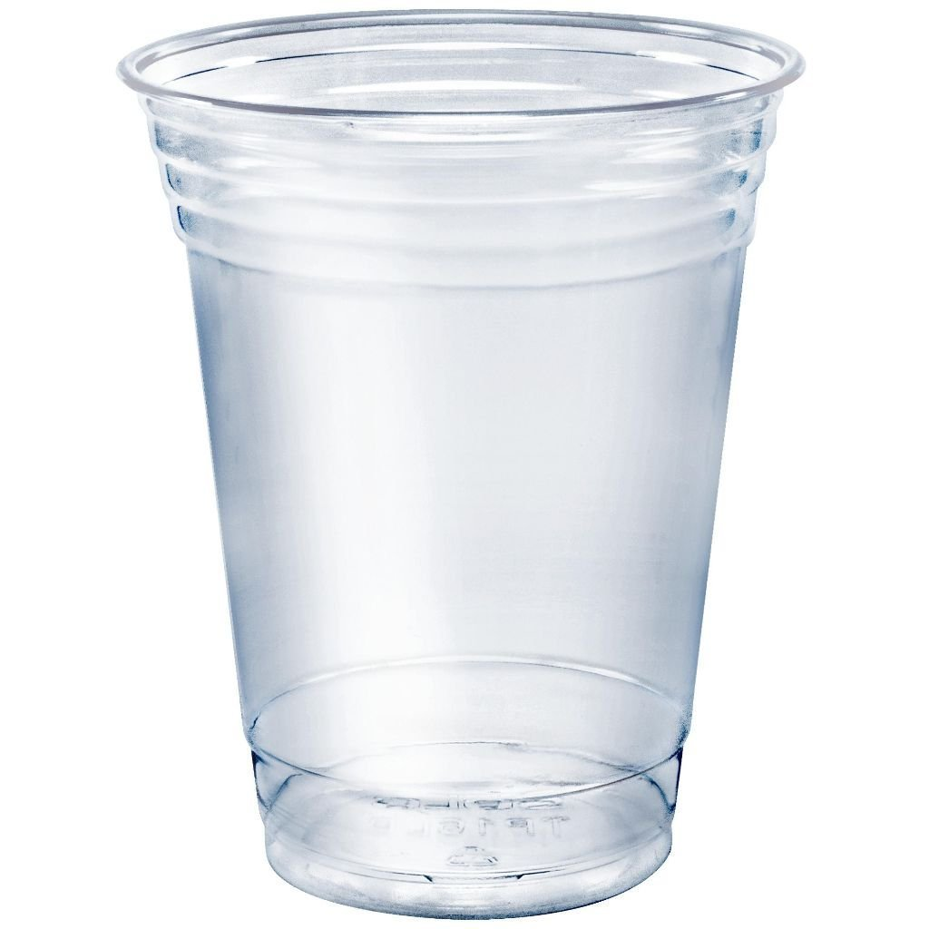 SOLO Cup Company TP12-100 100 Piece Plastic Party Cold, Clear, 12 oz