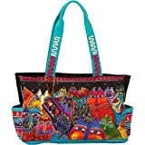 Laurel Burch Fantasticats Medium Tote (Fantasticats)