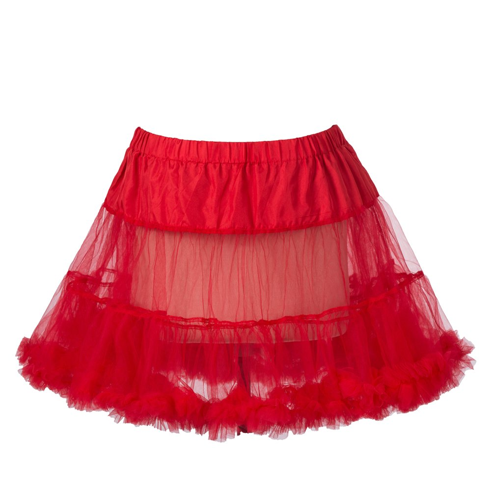 18' 50s retrò sottogonna Underdress sottoveste Rock Tutu nero, bianco, rosso, blu Boolevard Cosmetics Ltd.