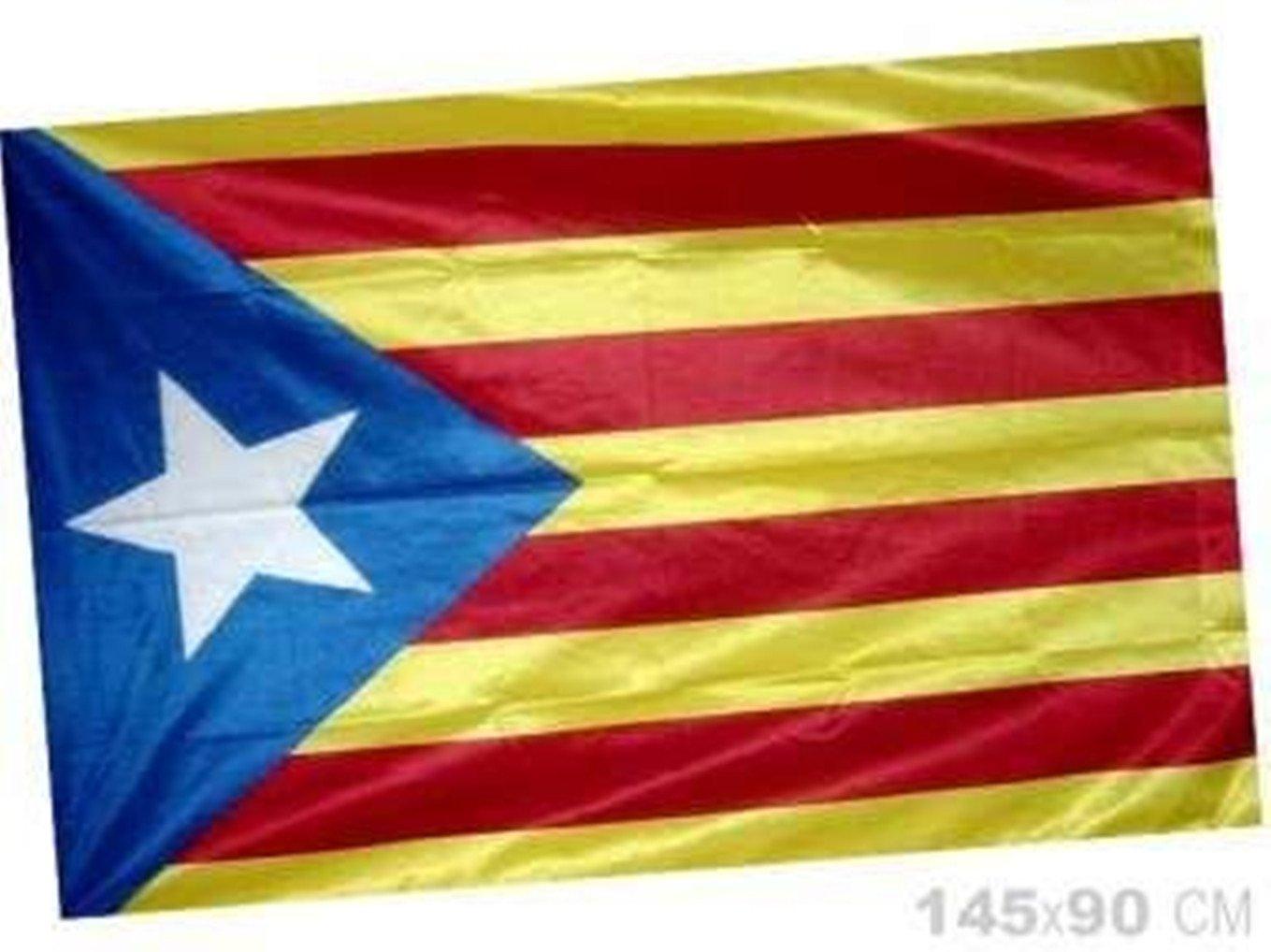 Estelada catalana bandera catalunya cataluña independentista. 90 *145 Cm.: Amazon.es: Jardín
