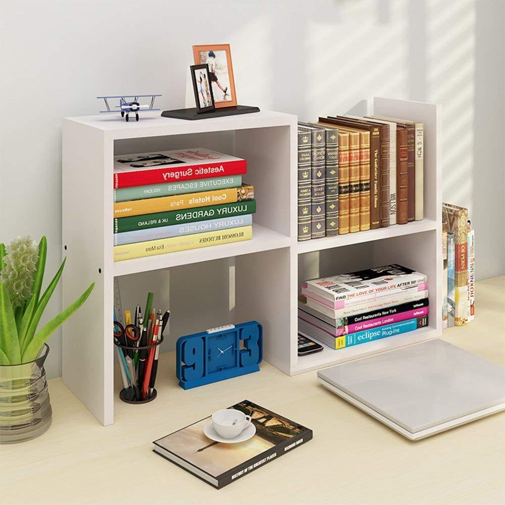 Amazon Aiweasi Useful Home Furniture Bookcase Sexy Simple Desktop Small Bookshelf Storage Combination On The Table Shelf Desk Rack Color D
