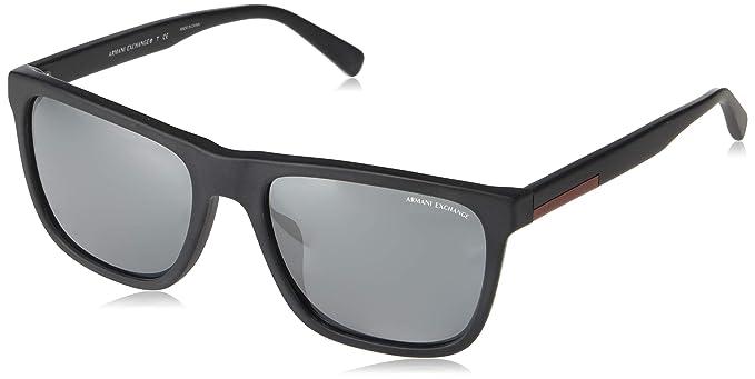3e383a1f41 Armani Exchange 0ax4080sf - anteojos de sol para hombre (cuadradas, 57,0 mm