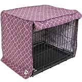 molly mutt Royals Crate Cover, Purple, Big