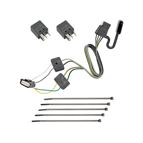 Amazon.com: Tekonsha 118285 4-Flat Tow Harness Wiring Package ... on tow rope, tow vehicle, tow equipment, tow carrier, tow board, tow ball, tow bracket, tow lights, tow food, tow box, tow pin, tow bolt, tow tools, tow accessories, tow strap,