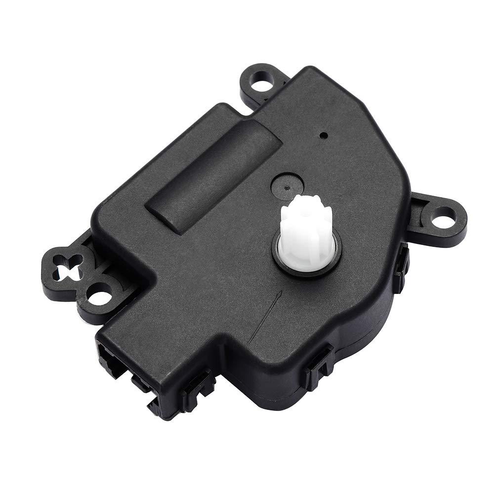 cciyu Compatible Air Door Actuator Replace 27743ZP00A fit for 2004-2010 Infiniti QX56 2007-2015 Nissan 2004-2009 Armada Nissan Quest 2004-2015 Nissan Titan Heater Blend Door Actuator 113670-5210-1612308401