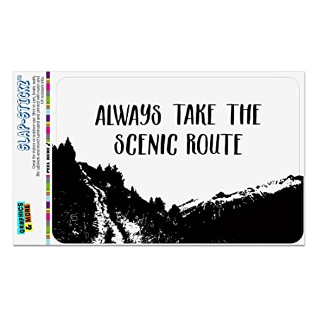 Always Take the Scenic Route - Cartel de viaje, oficina ...