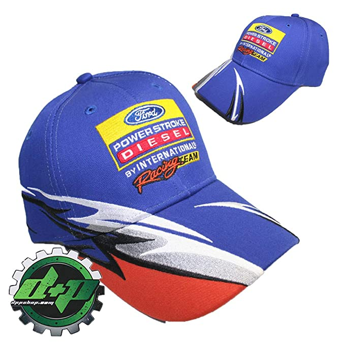 d1079267f Ford Powerstroke Hat Cap Truck Embroidered International Racing Team ...
