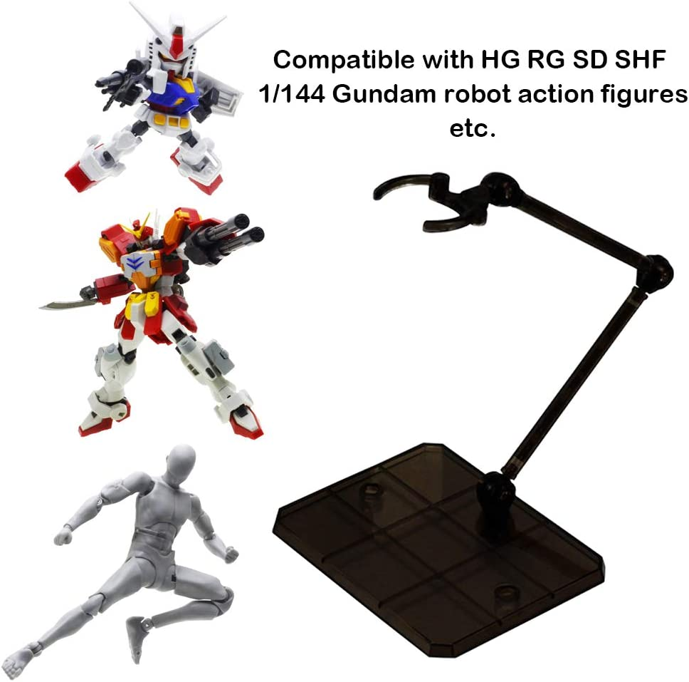 2PCS Action Base Action Figure Stand Holder Display for 1//100 1//144 Gundam