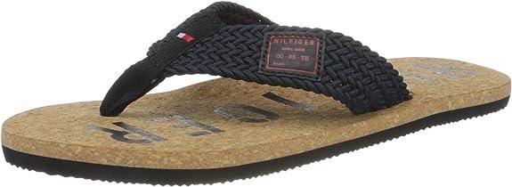 Tommy Hilfiger Zapato Sandalia Casual en Corcho