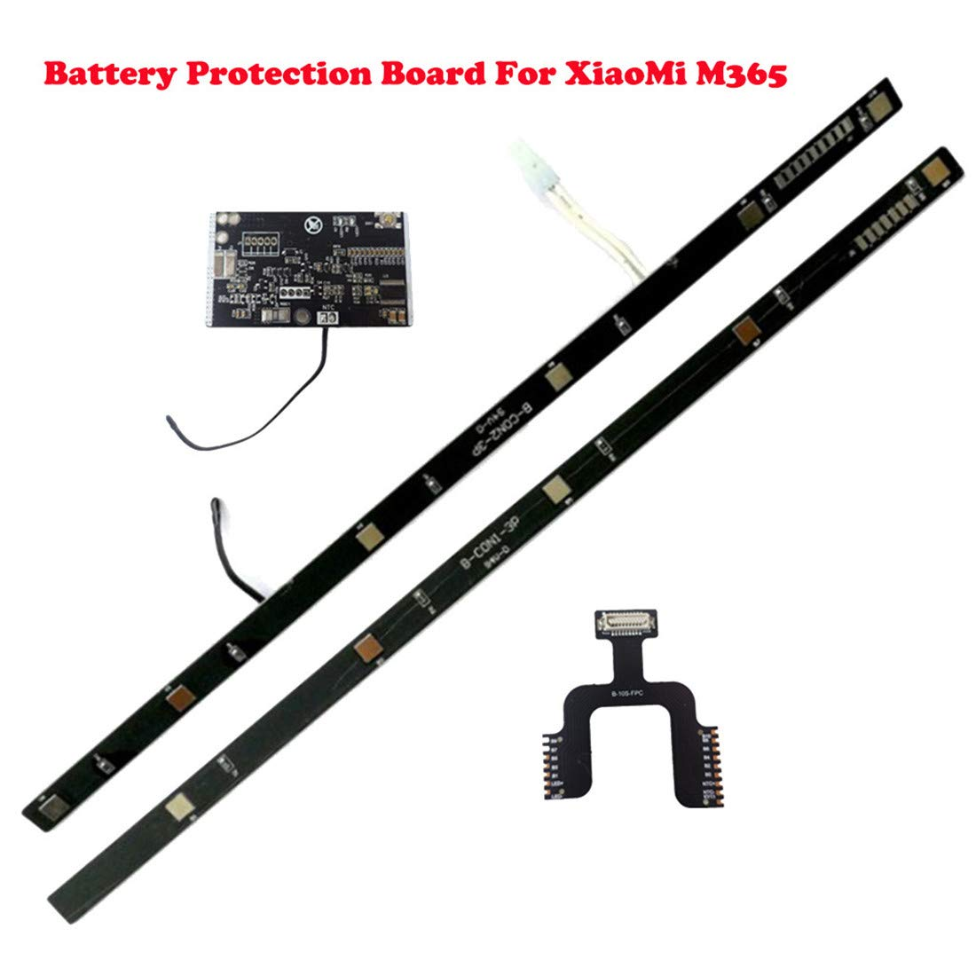 Freeby Compatible with Xiaomi M365 Electric Scooter Battery Protection Board BMS Circuit Board (Black) by Freeby