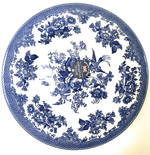 Royal Stafford Asiatic Pheasant Dark Blue 8 1/2 Salad Plate - Fine English China - Burslem - The Heart of the Potteries - Shipped in the 1 OM China Pack