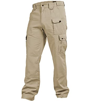 Amazon.com: Pentagon Men's Elgon Heavy Duty Tactical Pants Khaki ...