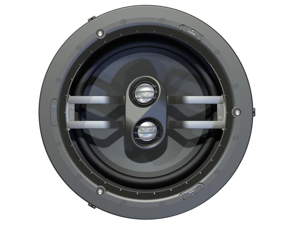 Niles DS8FX (Pair) 8-inch In-Ceiling Surround Effects Loudspeakers (FG01624) by Niles