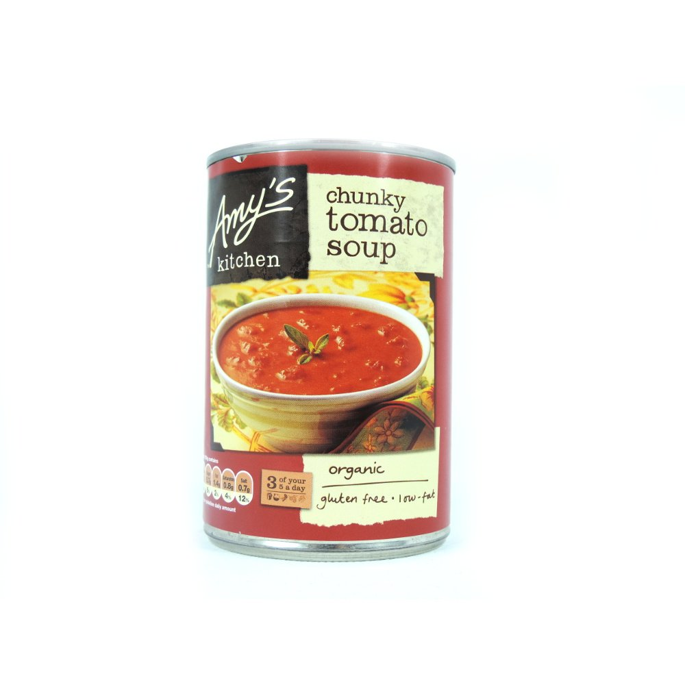 Amy's Kitchen - Chunky Tomato Soup - 400g (Pack of 6)
