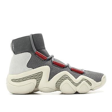 buy online ab8b8 22566 adidas Consortium Men Crazy 8 AD Workshop Gray Grey Foam Power red Sesame  Size 8.5 US