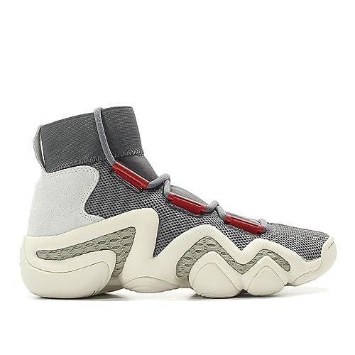 competitive price 3f0f9 3d1d8 ... damian lillard pe portland trailblazers be18c eca8b greece amazon adidas  consortium men crazy 8 a d workshop gray grey foam power red sesame fashion  ...
