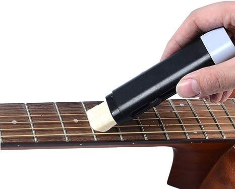 HLHome Limpiador de cuerdas para guitarra, antióxido, lubricación ...