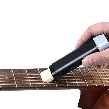 HLHome Limpiador de cuerdas para guitarra, antióxido, lubricación: Amazon.es: Instrumentos musicales