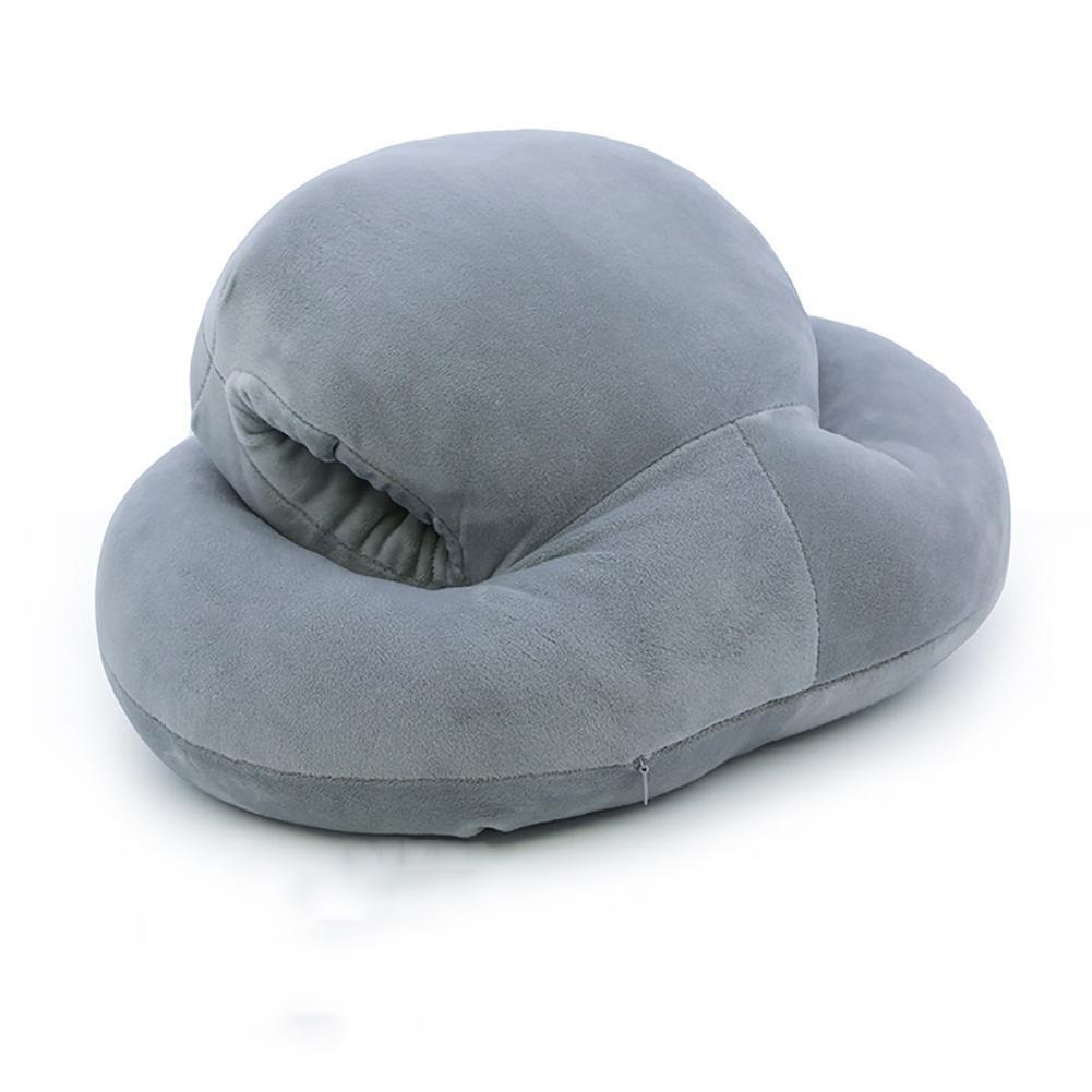 FLHSLY noonday Slepp Pillows Cushions Student School desk Pillows Office Slepp Pillows , gray , 403322cm