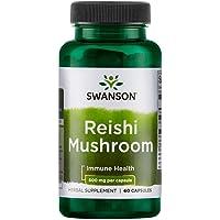 Swanson Reishi Mushroom (Ling Zhi) 1200mg - 60 Capsules