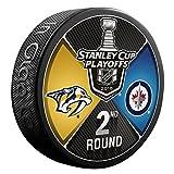 Inglasco 510AN004272 2018 Dueling Round 2 - Nashville Predators Vs Winnipeg Jets, Black, One Size