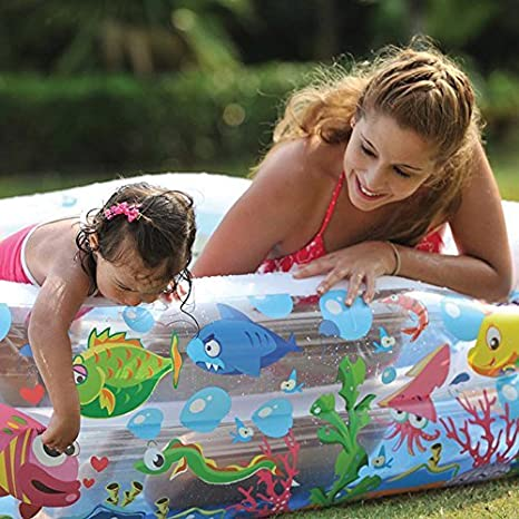 Jilong Sea World Square Pool - Piscina Infantil Hexagonal de Gran ...