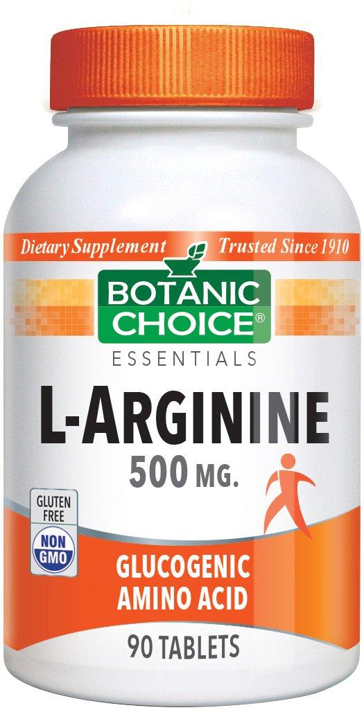 Botanic Choice L-Arginine 500mg, 90 Tablets (Pack of 6)