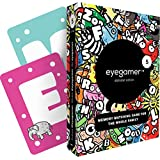 Eyegamer Memory Matching Card Game for Kids - Alphabet Edition - Learn The Alphabet and Improve Memory, Focus and Concentration - Memorize and Match Illustrated Letter Cards - 54 Cards
