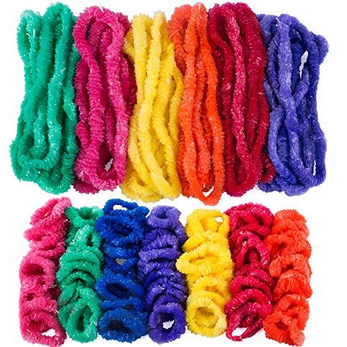Tigerdoe Hawaiian Leis - 150 Pc Set - Lei Necklaces - Lei Bracelets - Luau Party Supplies - Tropical Party - Tiki Costume Accessories]()