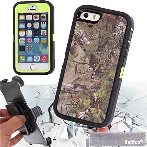 [해외]iPhone 5 5s / 5se 보디 코 헌팅 와일드 카모 헤비 듀티 방진 방진 방진 스크래치 방지 하이브리드 범퍼 바디 보호 케이스 벨트 클립 호/iPhone 5 5s / 5se Vodico Hunting Wild Camo Heavy Duty Shockproof Dustproof Drop Scratch Resistant Hybri...