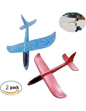 Tangger Avión Planeador Glider Avion Juguete Infantil Planeadores de Espuma,Glider para los Cabritos,