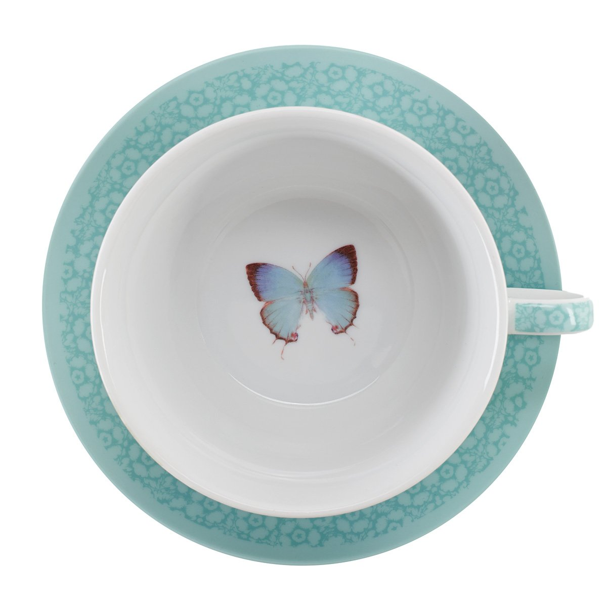 Botanic Butterfly Blessings ''Grace'' Tea-for-One Set by Christian Art Gifts (Image #5)