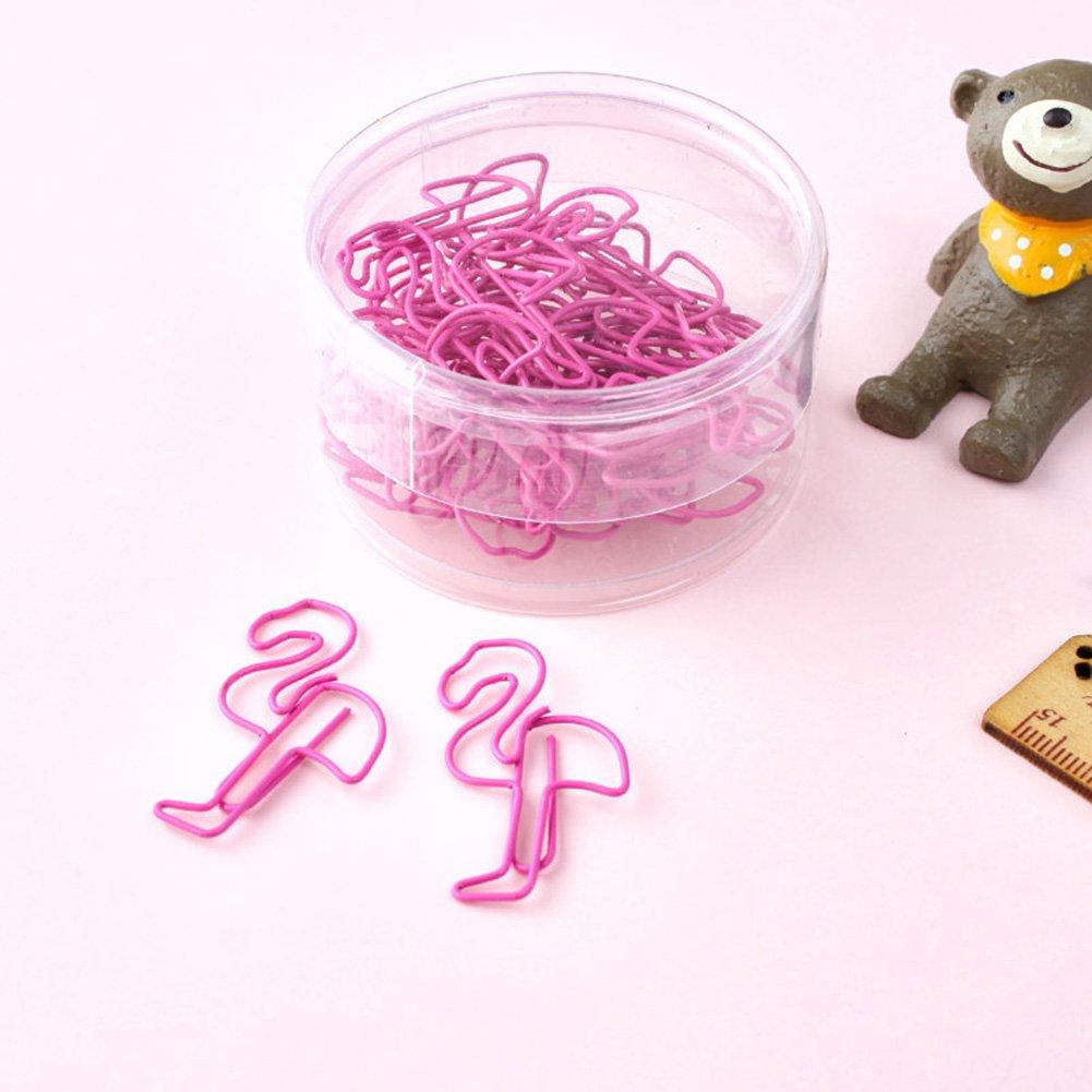 Clip de metal para marcap/áginas en forma de animal con clip de papel papeler/ía aprendizaje 24 piezas//lote oficina marcap/áginas manualidades