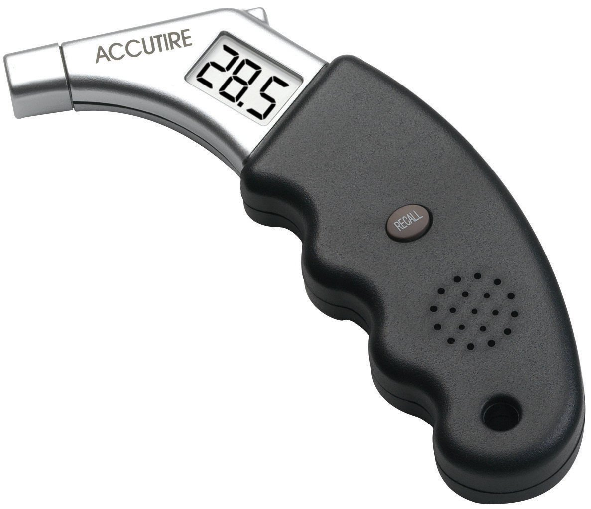 Measurement Limited Accutire MS-4441GB Talking Digital Tire Pressure Gauge, English and Spanish