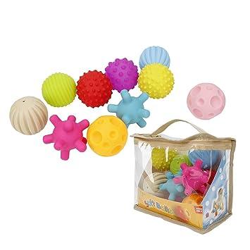 Amazon.com: LITTLEGRASS - Lote de 10 pelotas sensoriales con ...
